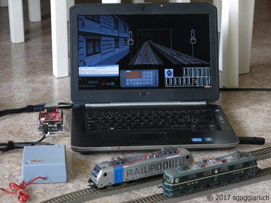 Sguggiari simulatore ae modellino h dcc