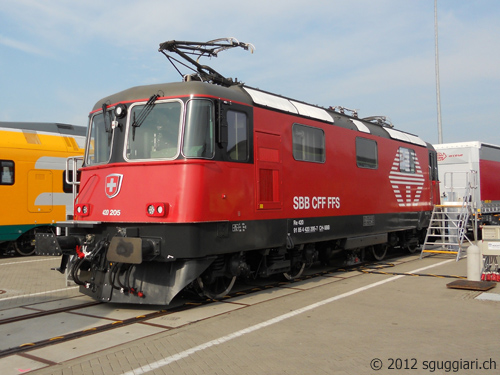 FFS Re 420 205 LION - Innotrans Berlino 2012